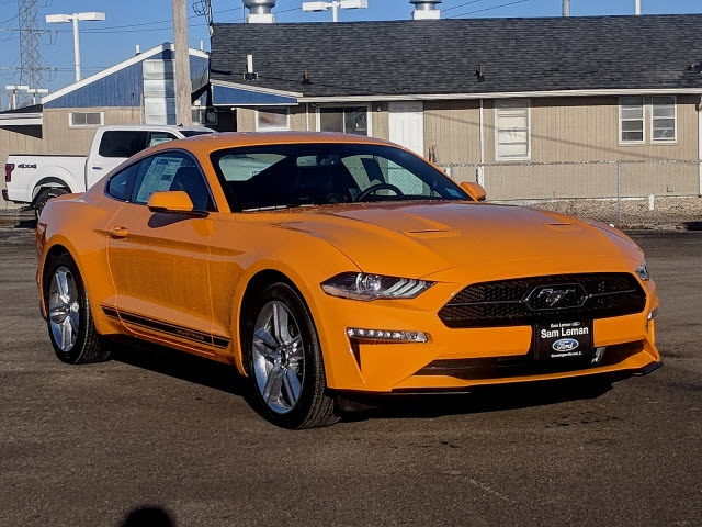 Ford Mustang Ecoboost >> New 2019 Ford Mustang Ecoboost Premium With Navigation