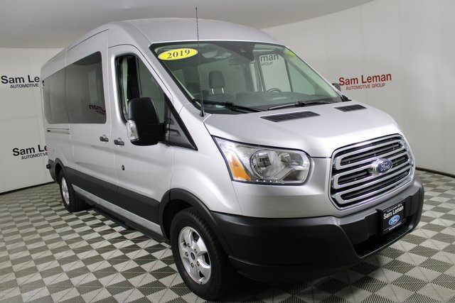 Pre-Owned 2019 Ford Transit-350 XLT