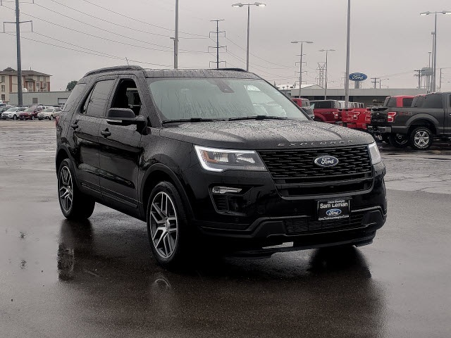 2019 Ford Explorer >> New 2019 Ford Explorer Sport 4d Sport Utility In Bloomington Nf1909