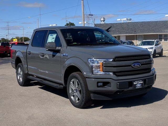 new 2018 ford f 150 lariat 4d supercrew in bloomington. Black Bedroom Furniture Sets. Home Design Ideas