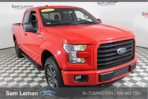 pre owned 2016 ford f 150 xlt 4d supercrew in bloomington. Black Bedroom Furniture Sets. Home Design Ideas