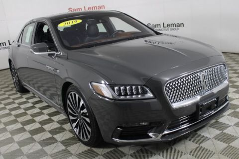 Pre-Owned 2019 Lincoln Continental Black Label